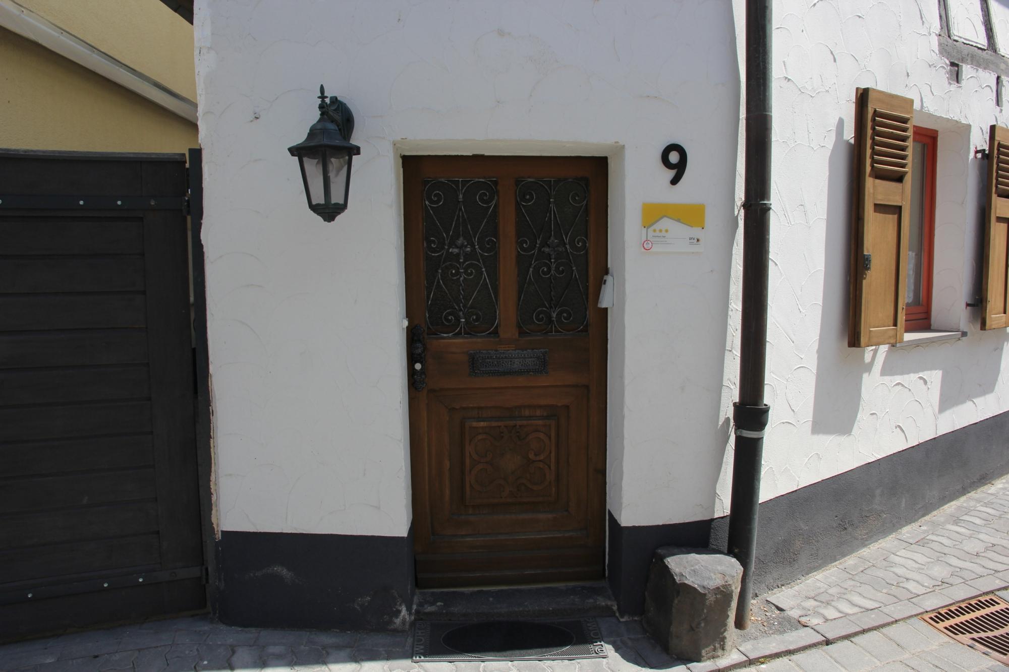 Ferienhaus Haus Sayn - Eingangstür