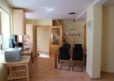Ferienhaus Haus Sayn - Küche&Essbereich