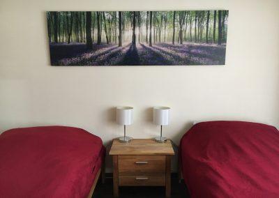 Ferienwohnung Helga, Bendorf – Schlafzimmer
