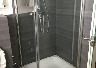 Ferienwohnung Klaus, Bendorf – Dusche